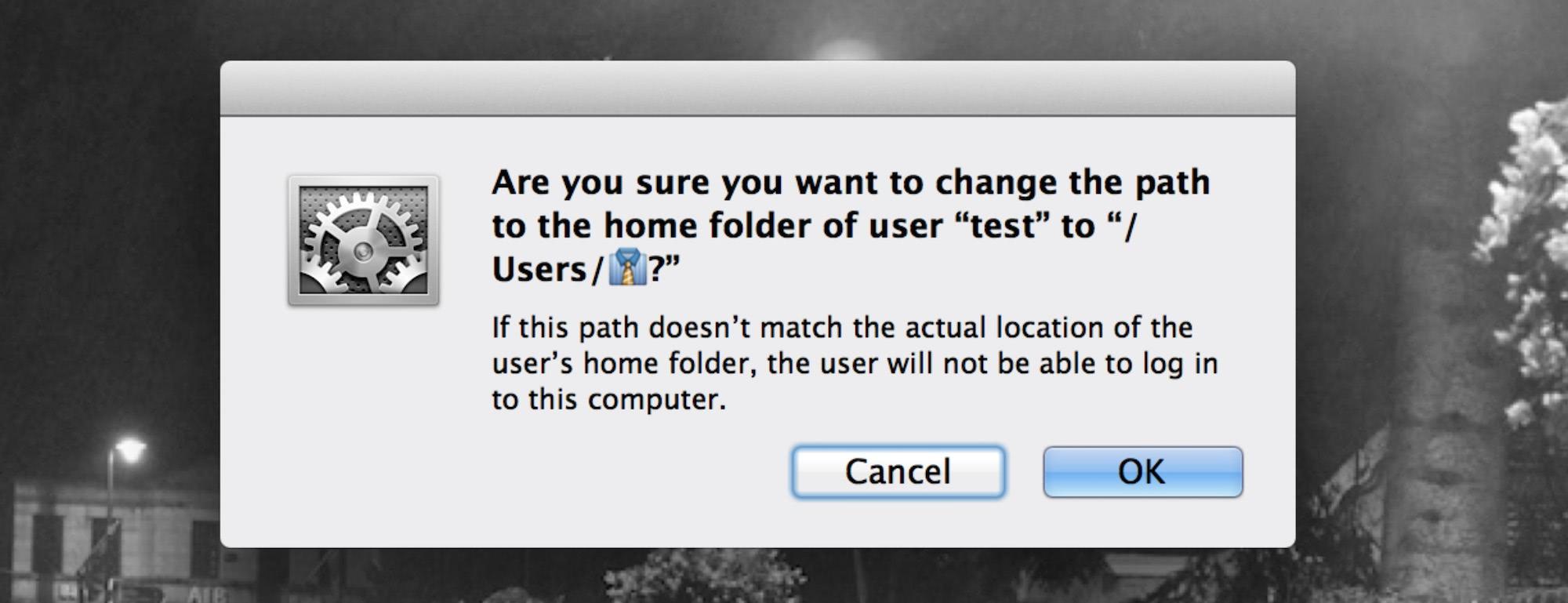 Home directory emoji